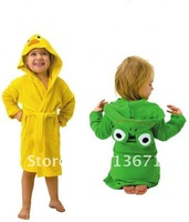 retail HOT SELL new design Terry Bathrobe - Hoodie/Hoody Costume Bath Towel Baby Robe - Kids Robes Baby Cartoon Hooded