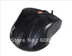Hot sale Game mouse 5000 DPI 60 inches/S USB 2.0 Wired Gaming Laser Mouse free shipping(China (Mainland))