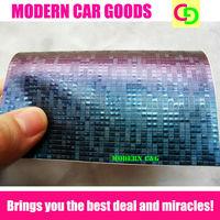 wholesale 152cm x 30m x 0.26mm blue mosaic chameleon vinyl film car vinyl car wrap colorful car stickers with air free channels