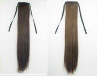 """,22""""  75g india Blended hair  Horse tail hair/ Ponytail Hair(#1B,#2,#4,#8,#613,#2t33,#2t30,#4t33,#4t30,#8/613,#27/613)"""