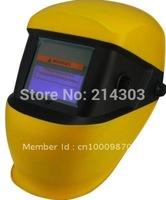 Double color Li batery+Solar auto darkening welding mask/weld helmet /welding goggles for the welder operate the welding machine