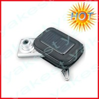 Hot solar camera charger bag for emergency