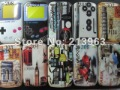 10pcs/Lot Normal & Retro UK & USA hard Plastic Case Cover For BlackBerry Curve 8520 8530 9300(China (Mainland))