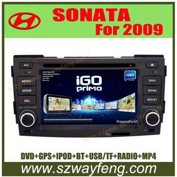 Russian language menu GPS BLUETOOTH IPOD HD 800*480 Hyundai 09 Sonata/NFC Car dvd radio GPS Bluetooth Free Maps with 4G Cards