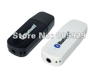 10pcs /lots USB Bluetooth Stereo Audio Music Receiver Adapter For IPhone/Ipad/Ipod/Andriod PC wireless  mini Speaker