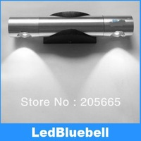 Free Shipping  Indoor Lighting 2W High Power LED Wall Lamp Pure white / Warm White mirror front lamps AC85~265V