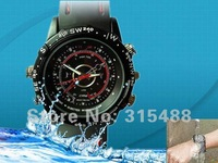 Hot selling,best quality,Guarantee really 4GB Waterproof Watch Mini DV Camera Fashion Watches DVR Free shipping Dropshipping
