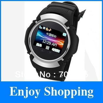 2pcs lot New Smart Watch GPS Tracker phone, call, sms, camera, mp3, mp4 PG66 + Free shipping