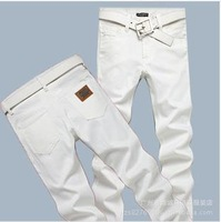 Free shipping mens white jeans hign quality soft brand D jeans designer hot sale jeans pants for men 305