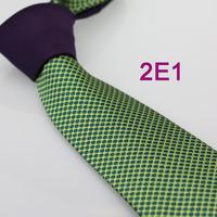 Coachella Men's ties 2013 New design Purple Knot Green Spots Dots Jacquard Necktie custom ties Cravat Formal Neck Tie for Men