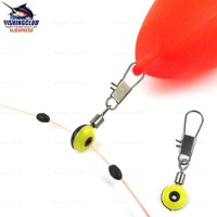 50pcs/lot fishing cross-lock snap/swivels quick change swivel with fishing stopper fishing tools tackle PJ53