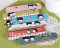 Hot!! Evanescent Time Tin Pencil Box Pencil Case Pen Pouch Case 32 pcs Mix Styles Free Shipping(China (Mainland))