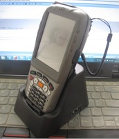 Rugged wireless Durable Industrial PDA with Cradle 1D/2D barcode scanner WIFI GSM/GPRS GPS  and RFID reader (MX8800)