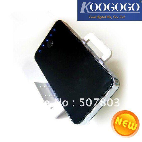 4300mah мобильный банк питания для iPad, iPhone, телефон mobie, планшетных ПК, высокая способность к достаточно мощности, высокий выходной ток