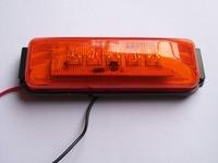 "Free Shipping (10) 12V/24V 4""LED trailer Clearance Side Marker Lights RV lamps Truck Clearance Lamp Boat light"