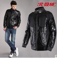 New Men's Casual short design down coat  fashion jacket