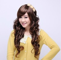 Free shipping-new arrive ladies'  amazing long curl wigs   high quality