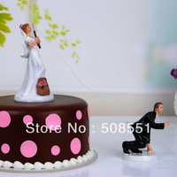 Free shipping  Fishing With Love Cake Toppers