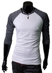 Free shipping, new arrival tshirt for men 2013, mens cotton t-shirt, long sleeve O-neck style fashion shirts, MTL002(China (Mainland))