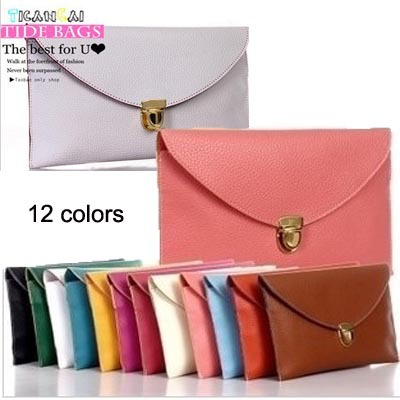 Womens Envelope Clutch Chain Purse Lady Handbag Tote Shoulder Hand Bag free shipping wholesale A005(China (Mainland))