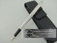 14k Platinum Grid Carved Design Luxurious Pens,Fountain/Gel/Ball Pen