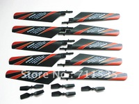 5Pairs/Lot V911-02 Main Rotor Blades + V911-06 Tail Blade Set Spare Parts Accessory For WLTOYS 4Ch V911 RC Helicopters