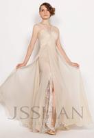 11P110 Shoulder Straps Ruching Chiffon Sleeveless Junoesque Elegant Gorgeous Luxury Unique Evening Gown Fancy Dress Party