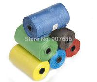 1000pcs New Pet Dog Garbage Clean-up Bag Pick Up Waste Poop Bag Refills Home Supply random color 20pcs/roll #3375