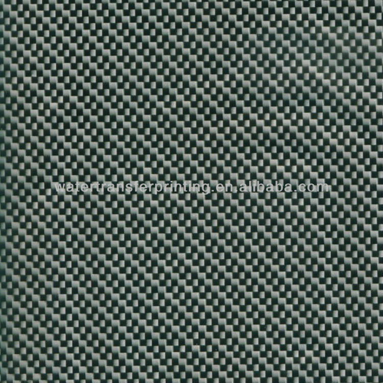 WHOLESALE Black/Silver CARBON FIBER Water Transfer Printing film Transparent Film With different basecoat WIDTH100CMGWA187-1(China (Mainland))