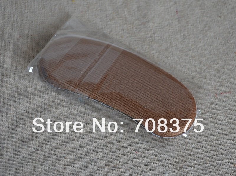Wholesale 100PAIRS/LOT Insole Brioche Shoe Pad High Heel Back Foam Comfortable Protection FREE SHIPPING(China (Mainland))