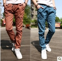 Hot sale in best quality casual harem pants male sports casual skinny fashion men sports pants