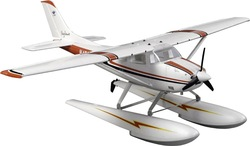Popular big scale plane 6ch 2.4G EPO 1.5m Large Cessna 182 seaplane rc plane model electric RTF(China (Mainland))
