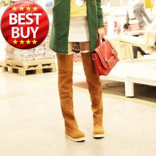 23 1/2''  60cm Fashion Warm winter 2013 snow boots for Lady and Women boots & Black,Yellow,Gray,Brown