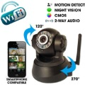 Wireless camera DVR 1/4 CMOS IR Night vision  wireless Motion detection with WIFI and PoE network, free shipping