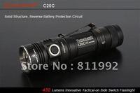 SUNWAYMAN C20C Tomahawk Cree XM-L U2 LED 18650 Flashlight