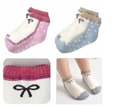 girls children socks boat socks  gentlewoman socks fit 1-3yrs baby kids deodorant sock 10 pairs/lot 2 style free shipping