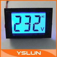 AC 80-500V Home House Factory Digital Voltmeter Electric LCD Panel Meter 110V 230V 220V Voltage Measurment #090797