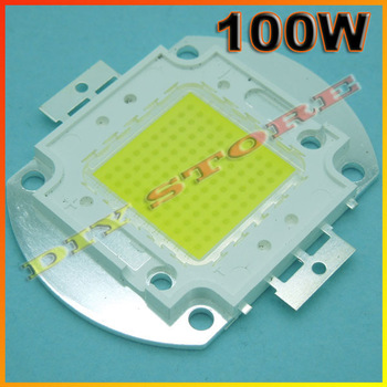 Wholesale 10pcs/lot 100W LED white/warm white/blue/green/yellow  High Power 5600LM LED Lamp SMD Chips -10000500