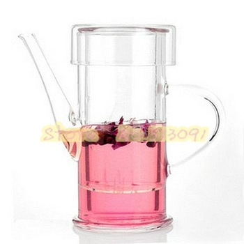 FREE SHIPPING+ Coffee & Tea Sets +180ml glass flower teapot+PIAOYI RB-1801