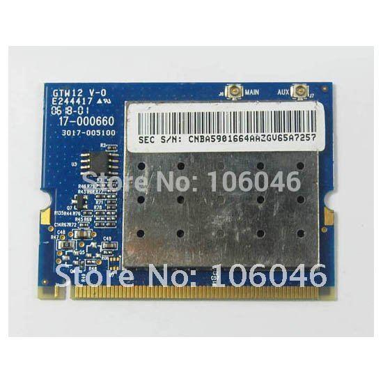 Atheros AR2413 AR5BMB5 wireless wifi Mini PCI Card for Apple 54Mpbs 802.11b/g(China (Mainland))