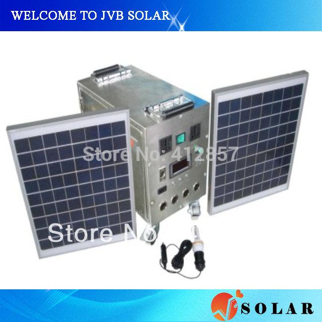 Système d éclairage solaire domestique