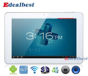 """10.1"""" inch AMPE A10 Deluxe Edition IPS 10-Point Capacitive Screen Android 4.0 Tablet PC HDMI Wi-Fi Bluetooth 2160P 1280*800 16GB"""