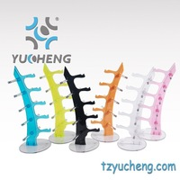 [YUCHENG]  Eyewear displays stand sunglasses display stand holder many colors for choice 15pcs/lot Y073