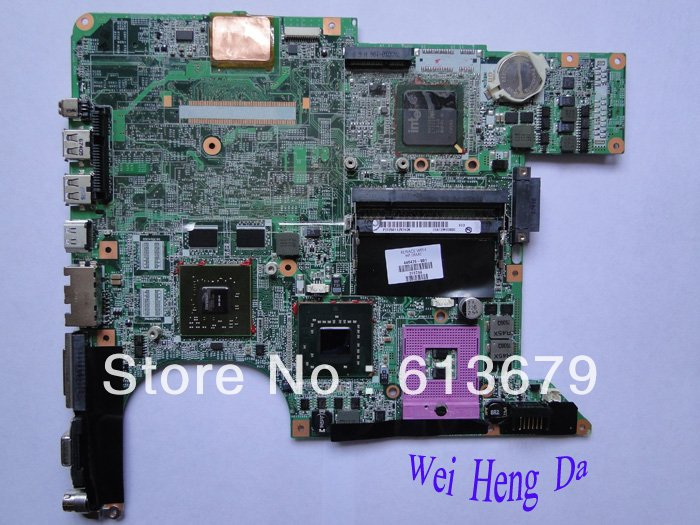 Wholesale top quality dv6000 446476-001 laptop motherboard for hp all tested(China (Mainland))