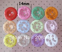 NB0116 Mixed lot buttons 350pcs14mm resin round buttons scrapbooking buttons
