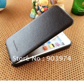 New Arrival For iphone 5 flip leather,Pcaro Duke Genuine leather Case for iphone 5 5G +Original Box Free Shipping by DHL/EMS