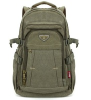 male backpack casual canvas bag travel backpack 14 15 laptop bag large capacity