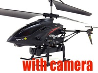 New version rc helicopter with camera HD + MEMORY CARD R/C RADIO Control Metal Gyro 3.5 CH Rc Helicopter  better than s107g syma