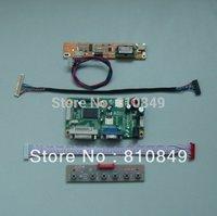 VGA+DVI LCD controller board work for 14.1inch~15inch lcd display
