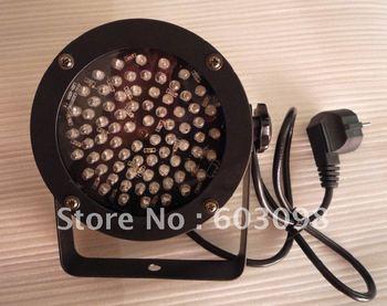 Mini RGB PAR Can LED RGB Strobe Light PAR38 76LEDs DMX Stage Lighting